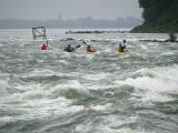 les kayakistes du Saint-Laurent