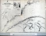 archives première carte marine du Saint-Laurent