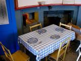 intérieur du phare, la salle à manger