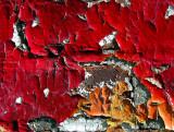 peinture écaillée