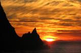 Un coucher de soleil pas comme les autres