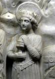 détail du bas relief