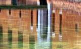 reflets des douves