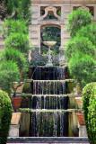 Les cascades du jardin