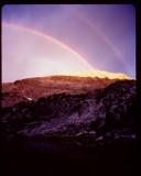 Baldy Mtn double rainbow
