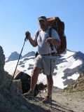 Monte Dodge and his Colin Fletcher Trailwise pack