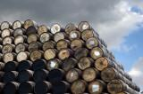 17th June 2012  Glenfiddich whisky barrels