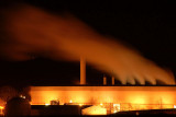 10th January 2008  paper mill at night