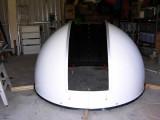 Dome halves assembled