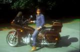 Raymond with his steelhorse
