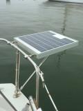 Installing A Small Marine Solar System