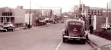 Downtown Leaksville: 1953