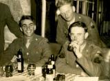 John Wesley Smith (at right) during World War II