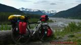 369    Trevor Touring Alaska - Devinci Tosca touring bike