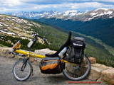 385    Wayne touring Colorado - Bacchetta Giro 20 touring bike