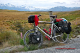 388    Tobias touring New Zealand - Patria Terra touring bike