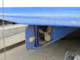 Yorkshire Lass Rudder Shaft Repair