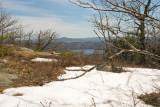 Snow at Little Ball Mountain Summit