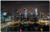 Singapore from the top of the Marina Bay Sands (MBS)