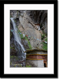 Waterfall Near Taktsang