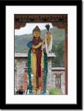 Statue at Thimphu Chorten