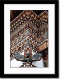 Wall Decoration at Trashichhoe Dzong
