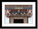 Decoration Above an Entrance