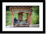 Prayer Wheel at Simthoka Dzong