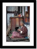 A Devout Elderly Lady