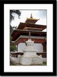 A Small Stupa at Kyichu Lakhang