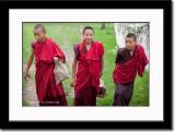 Young Monks at Rinpung Dzong