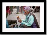 An Elderly Knick Knack Seller