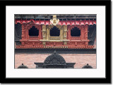 An Ornate Balcony of a Palace at Durbar Square