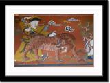 Wall Painting at Rinpung Dzong