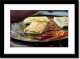 Egg Martabak Being Fried