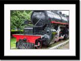 Old Locomotive at Ambarawa Railroad Museum
