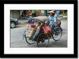 Becak or Riksha