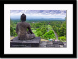 Buddha Statue on Borubudur Temple