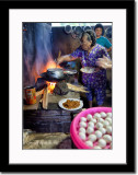 Cooking at Traditional Kitchen