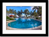Swimming Pool at Hotel in Manado