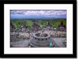Exposed Buddha Statue Inside Stupa