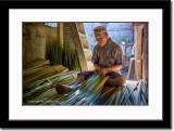 Making of Ketupat Shell