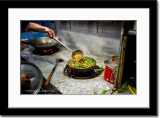 Bayem (Spinach) with Shrimp Dish