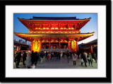 Sensouji Temple at Dusk