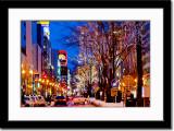 Festive Downtown Sapporo