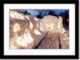 Snow Display at the Former Rail Road