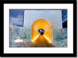 Brightly Lit Tunnel