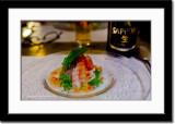 Raw Shrimp Salad