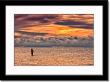 Fisherman After Sunset