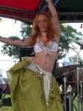 Bandstand Belly Dancer